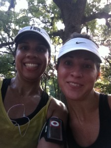 After we finished the Hot Mama Half July 2012, during that run we decided to run the Cow Town Full on Feb 24 2013.
