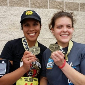 happy marathon finishers!