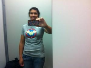 wonderwoman shirt dressing room
