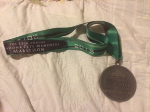 "My favorite medal. ""Run To Remember"""